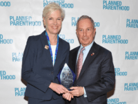 Planned Parenthood Federation of America, Cecile Richards (L) and New York City Mayor Michael Bloomberg attends the 2012 Planned Parenthood of New York City Spring Luncheon at The Pierre Hotel on March 13, 2012 in New York City. (Photo by Mike Coppola/Getty Images)