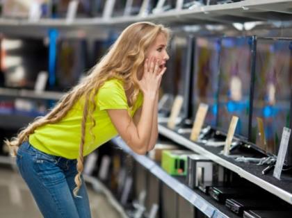 Television prices fall despite tariffs