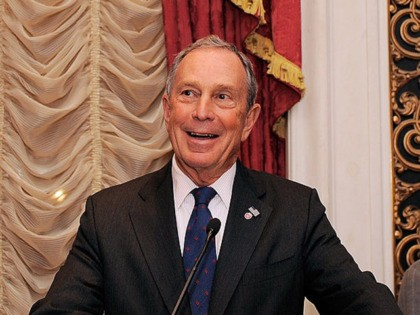 NEW YORK - NOVEMBER 18: New York City Mayor Michael R. Bloomberg speaks during the celebration of Ed Koch's 85th Birthday and 20th Anniversary at Brian Cave LLP at the St. Regis Hotel on November 18, 2009 in New York City. (Photo by Jemal Countess/Getty Images for Bryan Cave LLP)