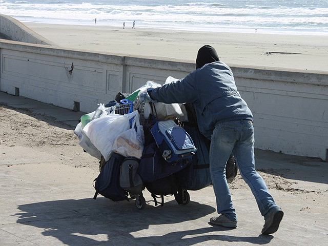 Homeless at the Beach