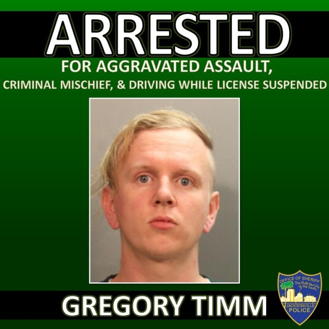 Gregory Timm Jax Sheriffs Office