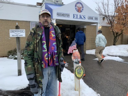 Bernie Supporter New Hampshire Primary (Joel Pollak / Breitbart News)