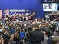 Bernie Sanders rally NH (Joel Pollak / Breitbart News)