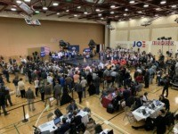 Joe Biden Flogs 'Very Fine People' Hoax to Half-empty Gym in South Carolina