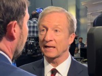 Tom Steyer (Joel Pollak / Breitbart News)