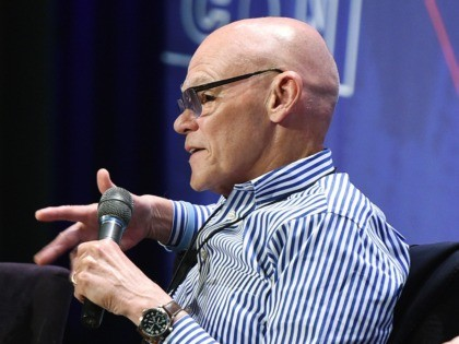 James Carville (Joshua Blanchard/Getty Images for Politicon)