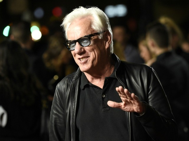 "FILE - In this Nov. 2, 2016 file photo, actor James Woods attends the premiere of the film ""Bleed for This"" in Beverly Hills, Calif. Woods' agent has dropped the actor as a client, citing patriotism. On Thursday, July 5, 2018, Woods shared on Twitter an email from his agent, …"