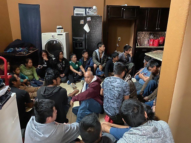 Border Patrol agents rescue 37 migrants locked in a Laredo human smuggling stash house. (Photo: U.S. Border Patrol/Laredo Sector)