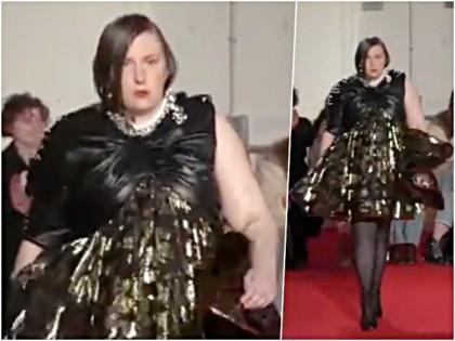 Lena Dunham Makes Runway Debut at London Fashion Week