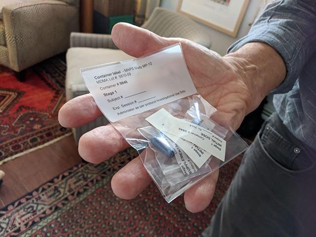 pharmaceutical-grade MDMA