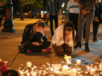 MANCHESTER, ENGLAND - MAY 23: Members of the public attend a candlelit vigil, to honour the victims of Monday evening's terror attack, at Albert Square on May 23, 2017 in Manchester, England. Monday's explosion occurred at Manchester Arena as concert goers were leaving the venue after Ariana Grande had just …