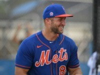 WATCH: Tim Tebow Hits Monster Home Run at Mets Spring Training