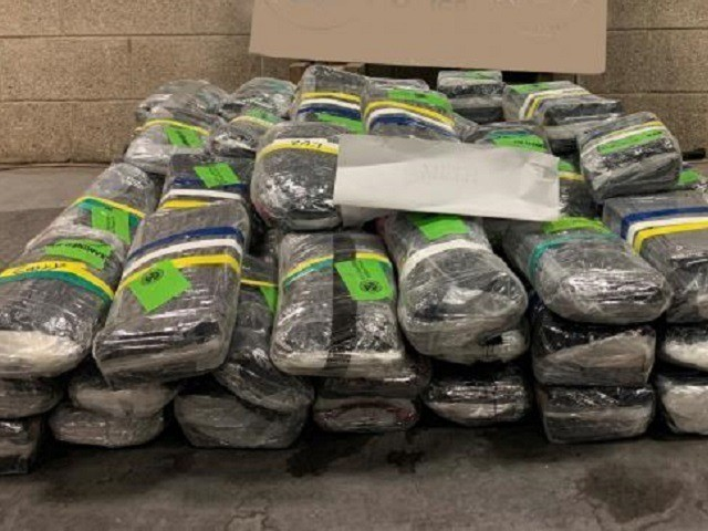 $18 million in methamphetamine seized at South Texas border crossing. (Photo: U.S. Customs and Border Protection/Rio Grande Valley Sector)
