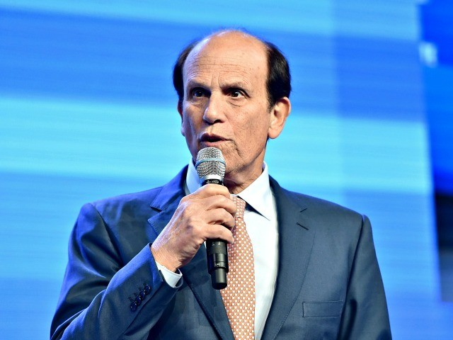 BEVERLY HILLS, CA - MAY 03: Chairman of Milken Institute, Michael Milken speaks onstage during 2016 Milken Institute Global Conference at The Beverly Hilton on May 03, 2016 in Beverly Hills, California. (Photo by Alberto E. Rodriguez/Getty Images)