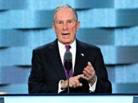 FILE - In this Wednesday, July 27, 2016, file photo, former New York City Mayor Michael Bloomberg speaks during the third day of the Democratic National Convention in Philadelphia. The former New York City mayor addressed his intensifying focus on climate change on Saturday, April 22, 2017, in an email …