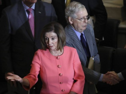 Nancy Pelosi and Mitch McConnell (Drew Angerer / Getty)