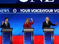 New Hampshire debate (Joe Raedle / Getty)