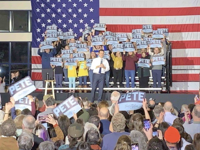 Pete Buttigieg New Hampshire (Joel Pollak / Breitbart News)