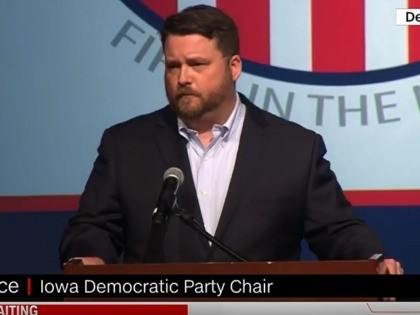 Iowa Democratic Party Chair Troy Price during 2/4/2020 presser