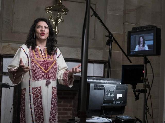 Rashida Tlaib triggered (Sarah Silbiger / Getty)