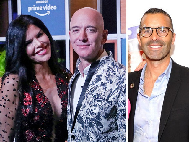 Lauren Sanchez, Jeff Bezos, Michael Sanchez