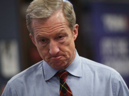 Tom Steyer Hits 10% Debate Threshold in Four Polls, but None of Them Counts