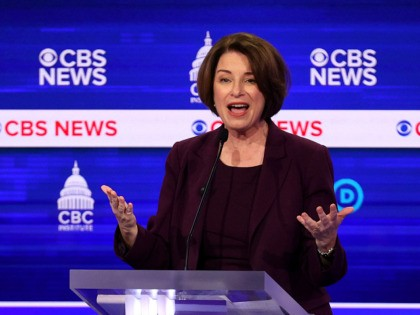 Amy Klobuchar Says Coronavirus 'So Serious' but Will Not Commit to Closing Border to Prevent Outbreak