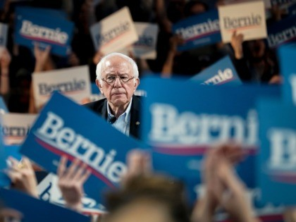 HOUSTON, TX - FEBRUARY 23: Democratic presidential candidate Sen. Bernie Sanders (I-VT) speaks during a campaign rally at the University of Houston on February 23, 2020 in Houston, Texas. With early voting underway in Texas, Sanders is holding four rallies in the delegate-rich state this weekend before traveling on to …