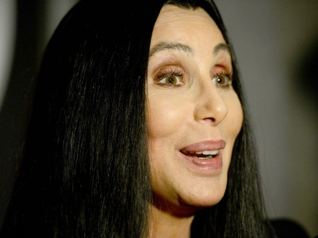 """HOLLYWOOD, CA - APRIL 24: Singer/actress Cher presenting """"Moonstruck"""" at Target Presents AFI's Night at the Movies at ArcLight Cinemas on April 24, 2013 in Hollywood, California. (Photo by Frazer Harrison/Getty Images for AFI)"""