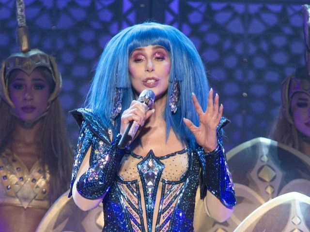 "Cher performs in concert during her ""Here We Go Again Tour"" at The Wells Fargo Center on Friday, Dec. 6, 2019, in Philadelphia. (Photo by Owen Sweeney/Invision/AP)"