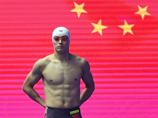 Eight-year ban for Chinese Olympic champion — Sun Yang