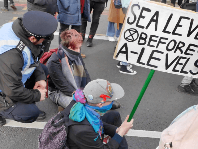 Arrest as Extinction Rebellion ruins Trinity College lawn