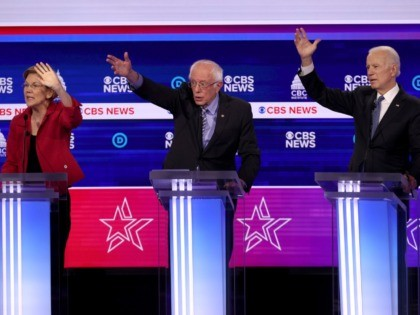 Nolte: The Debate Spectacle of Emasculated Democrats Raising Their Hands Like Babies