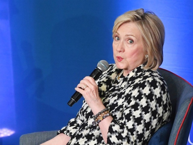 OSLO, NORWAY - MARCH 08: Hillary Clinton attends the Gender Equality Conference at BI Business School on March 8, 2019 in Oslo, Norway. (Photo by Rune Hellestad/Getty Images)