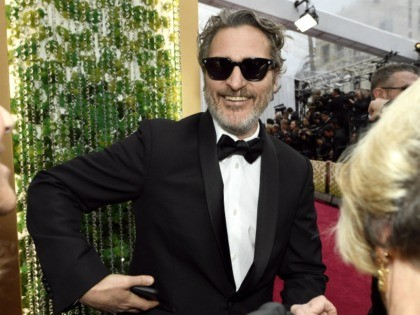 HOLLYWOOD, CALIFORNIA - FEBRUARY 09: Joaquin Phoenix attends the 92nd Annual Academy Awards at Hollywood and Highland on February 09, 2020 in Hollywood, California. (Photo by Kevork Djansezian/Getty Images)