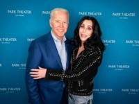 Joe Biden Poses with Cher and Asks: 'Do You Believe in Life After Trump?'