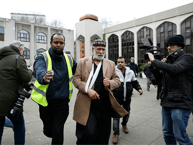 Man appears in court charged with stabbing at London mosque
