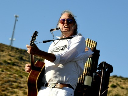 Neil Young Declares Trump a 'Disgrace to My Country': 'We Are Going to Vote You Out'