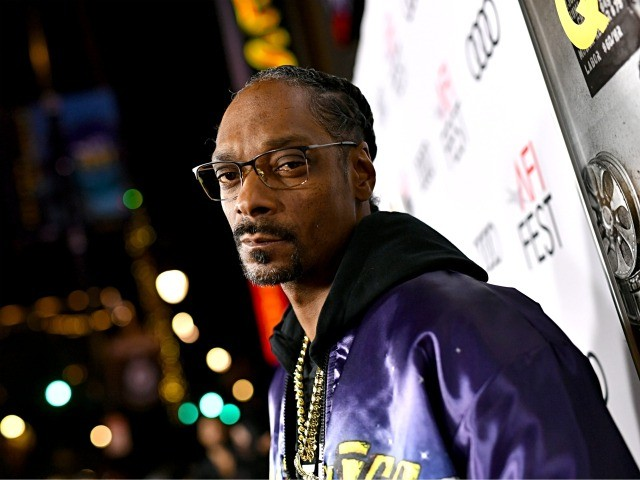 """HOLLYWOOD, CALIFORNIA - NOVEMBER 14: Snoop Dogg attends the """"Queen & Slim"""" Premiere at AFI FEST 2019 presented by Audi at the TCL Chinese Theatre on November 14, 2019 in Hollywood, California. (Photo by Emma McIntyre/Getty Images)"""