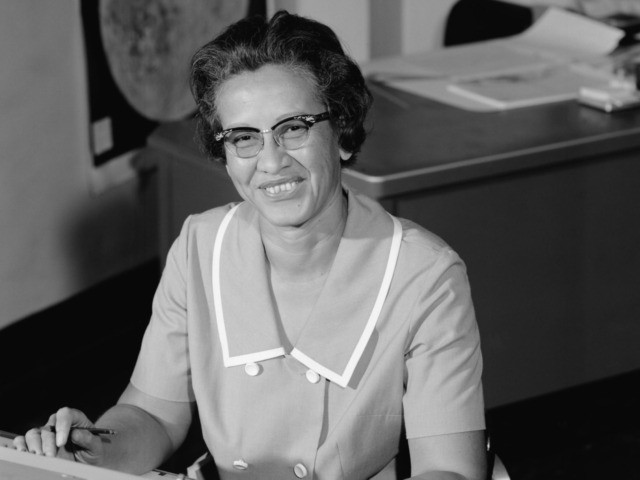 Katherine Johnson, part of a small group of African-American women mathematicians who did crucial work at NASA, in 1966.Credit...NASA/Donaldson Collection, via Getty Images