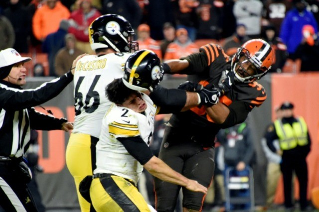John Dorsey: Myles Garrett made accusation against Mason Rudolph postgame