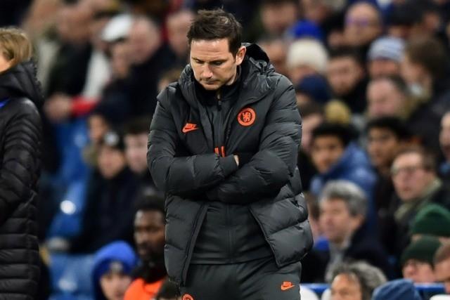 Reality check: Chelsea boss Frank Lampard