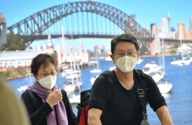 Australia warns virus pandemic now 'upon us'
