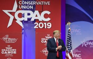 Watch live: President Donald Trump speaks at CPAC