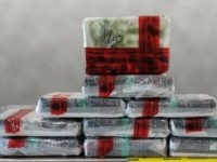 Cocaine seized at Laredo Port of Entry.