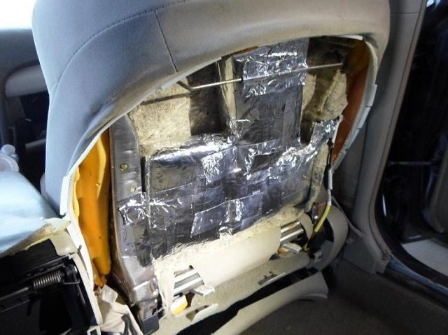 Cocaine and Fentanyl found at San Diego Sector traffic stop. (Photo: U.S. Border Patrol/San Diego Sector)