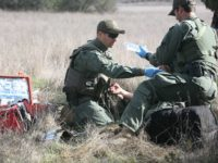 Border Patrol EMT training exercise.