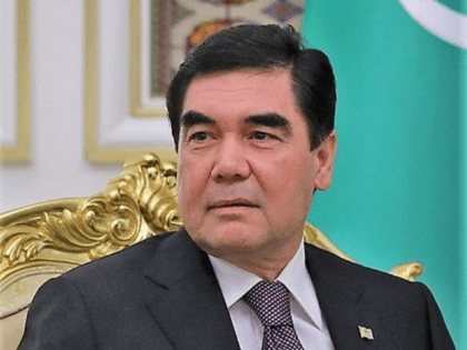 President of Turkmenistan Gurbanguly Berdimuhamedow