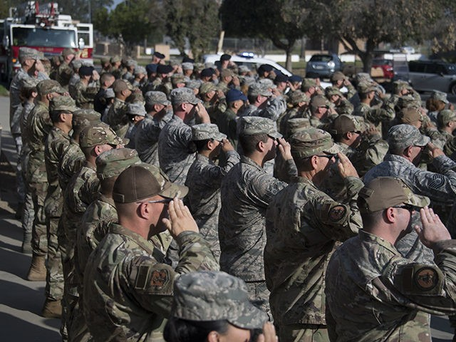 The California National Guard's 146th Airlift Wing held their annual Sept. 11th ceremony at Channel Islands Air National Guard Station, Calif. on Sept. 11, 2019. The ceremony is an annual event for the wing. (Photo by Senior Airman Michelle Ulber)