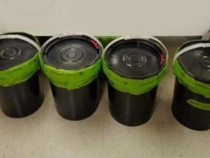 Liquid Methamphetamine seized at Texas port of entry. (